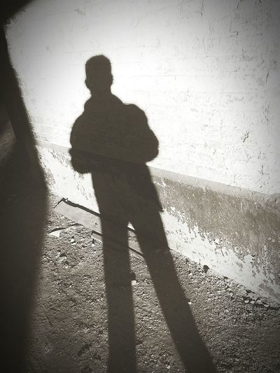 Shillouette Light And Shadow The Dark Side The Darkness Within Dark Art Black & White Waiting EyeEm Ready