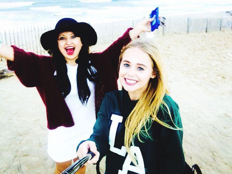 RDS Girl Happy Fun Beach Friends