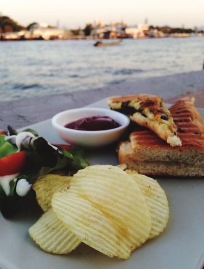 Chil Out Riverside sunset Ready-to-eat Outdoors