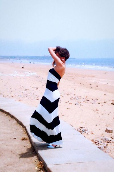 Missing the beach Today's Hot Look Enjoying Life Taking Photos Relaxing That's Me Check This Out Missing Summer Beach Beachphotography Beautiful Dress Sea Qingdao Summer Beach Photography Enjoying The Sun TBT