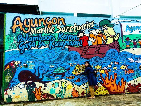 Multi Colored Street Art Graffiti Architecture Close-up Built Structure