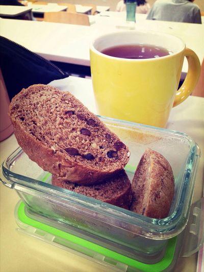 好久沒認真享用早餐 冬日 細雨