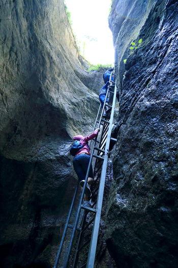 Mountain Climbers Sapte Scari Stair Stair Climbing