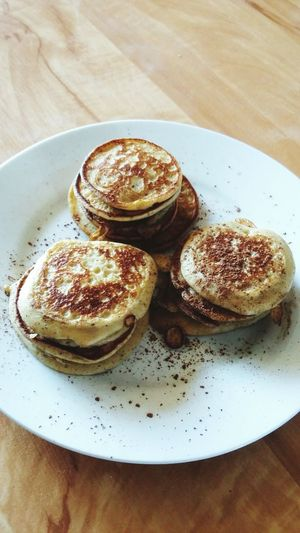 Show Us Your Takeaway! Pancakes Mini Pancakes Cinnamon Cocao So Good