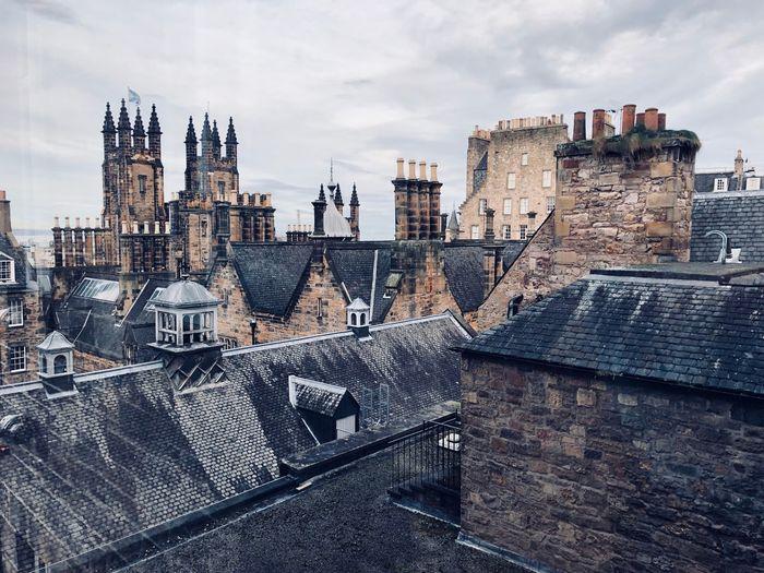 Edinburgh EyeEm Selects Building Exterior Architecture Built Structure Sky City Building Cityscape Travel Destinations