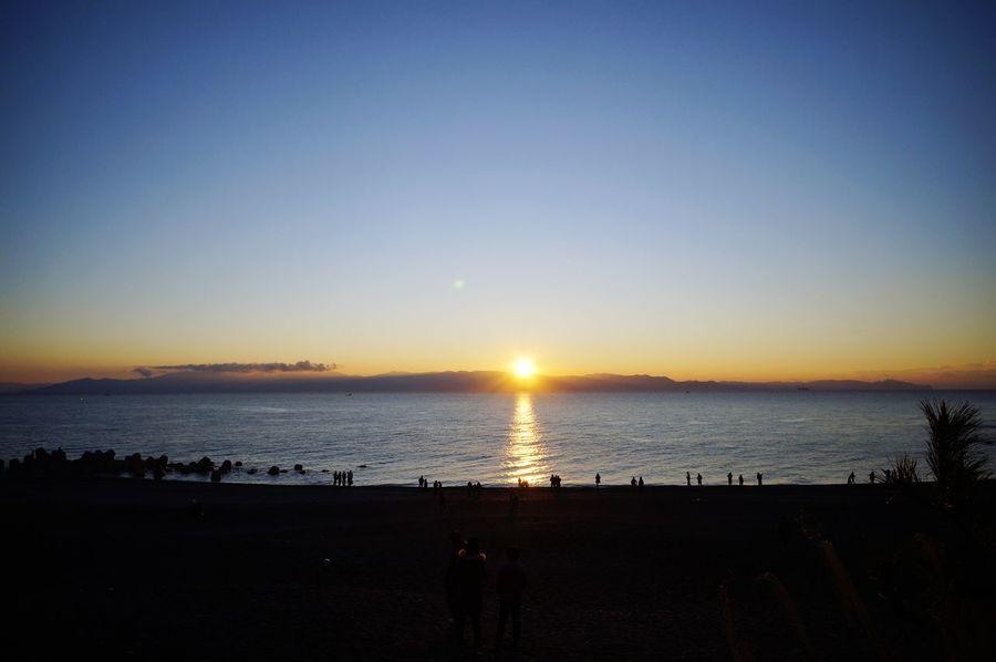 Shizuoka-shi 1.1 sunrise