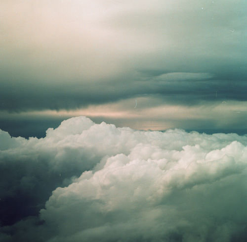 Clouds Day Film Photography Medium Format No People Outdoors Sky And Clouds Flight Travel Flying