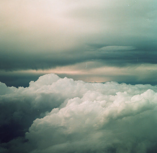 Scenic view of clouds in sky