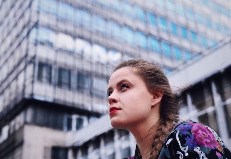 City Life Modernism Girl Fashion Face Blonde Façade Urban Geometry Architecture_collection EyeEm Best Shots EyeEm Selects