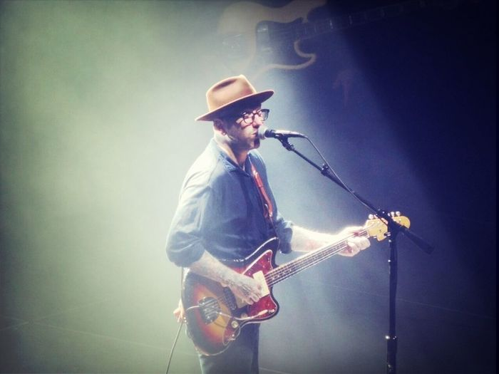 Dallas Green,  City And Colour Concert @ Rexall Place, Edmonton. May 20th 2014.