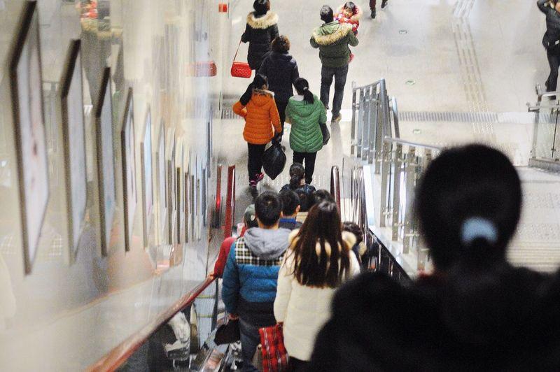 重庆面孔No00074 Edge Of The World Traveling Chongqing City China