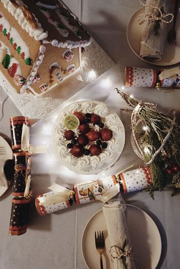 Merry Christmas♡ Home Interior Toronto Lifestyles Indoors  Food Food And Drink Sweet Food Sweet Celebration Dessert Christmas Cake Holiday