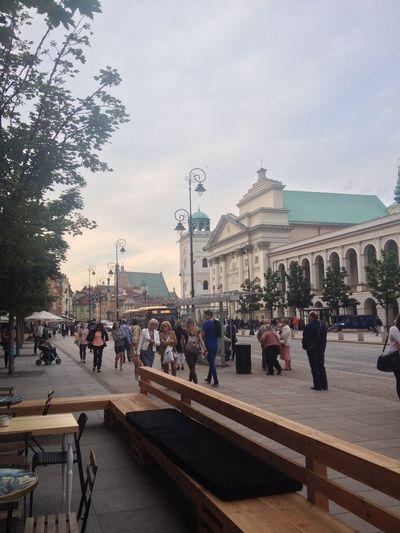 Everyday Lives Walking Around Exploring Warsaw