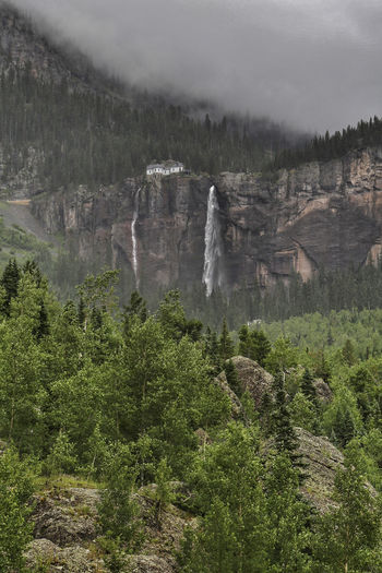 Beautiful rainy day in the mountains of Colorado Cloudy Colorado Exploring Green Rain Telluride Trees Wanderlust Adventure Canyon Evergreen Forest Kerry Estey Keith Landscape Lizard Head Pass Mountain Mountains River San Juan Mountains Sky Stormy Trestle Trout Creek Water Waterfall