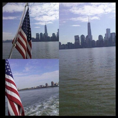 Ferry ride! NYC Missfreedom Pretty Seniors 2014 goodtimes