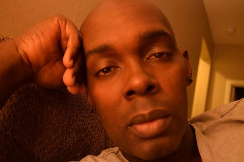 Just relaxing Headshot Portrait Indoors  Close-up One Man Only Lighting And Shadows African American Baldhead Lounging