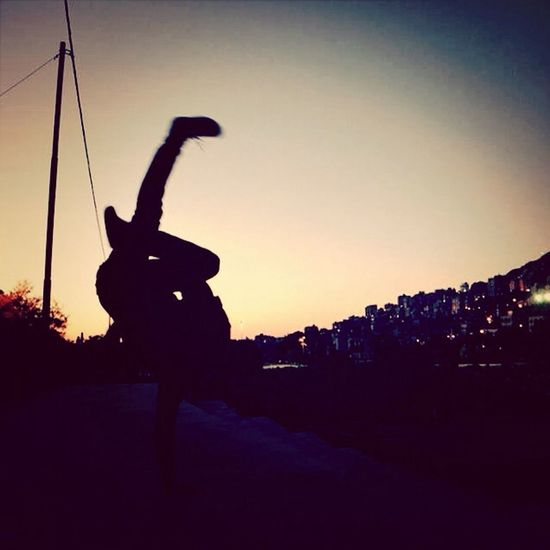 Am a bboy Sunset BBOY