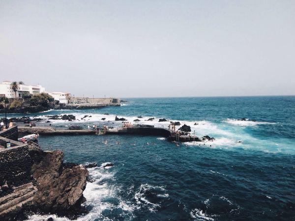 Tenerife, Canary Islands. Tenerife Island Canary Islands Travel Summer Ocean Waves