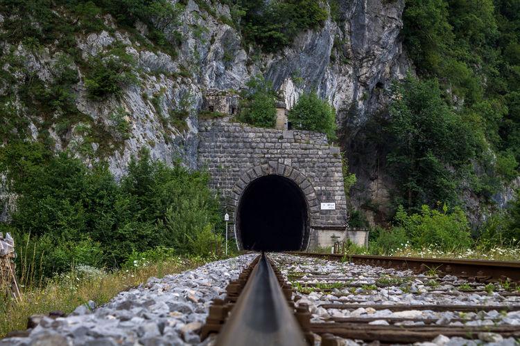 Railway leading