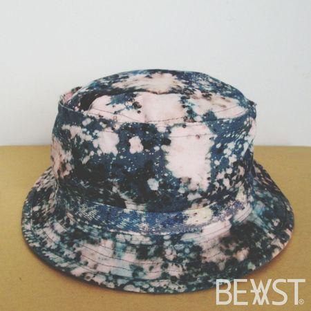 Tie dye bucket hat by BEVST Street Fashion Bucket Hat Tie Dye Streetwear