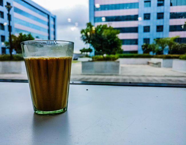 Chai it! Drink Tea Building Exterior Close-up Healthy Randomshot Random Shots Chai Chai Latte Office Officespace
