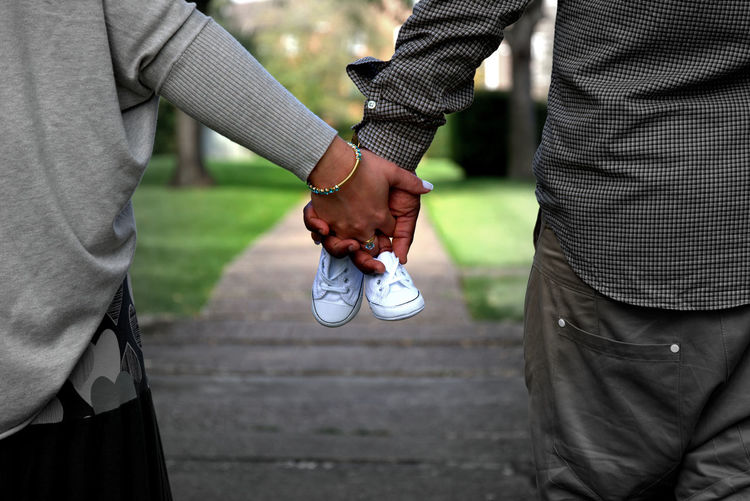 Pregnancy is the only time in life when you'll fall in love with someone you haven't met. Congrats my dear friends Babyboy Couple Focus On Foreground Footwear Friendship Happiness Lifestyles Looking Into The Future Love Love ♥ Outdoor Photography Outdoor Pictures People Pregnancy Pregnant Real People Splash