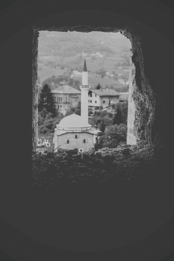 BIH Bosna Bosnia And Herzegovina Travnik Blackandwhite Bw