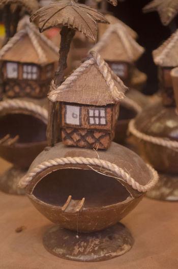 Close-up Coconut Coconut Handicraft Handicraft Work Handicrafts Handicrafts Philippine Products No People