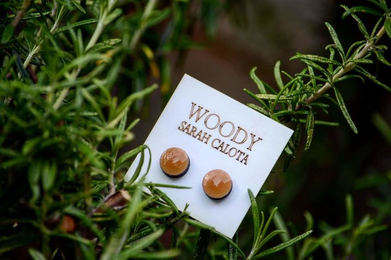 Information found on facebook. The link is on my profile. Handmade Wood Earings Stainless Steel  Measure 1.2cm Added Few Layers Of Varnish Protection MDF Elegant Classy New Collection Like Share Care London Followme Mywork Hobby