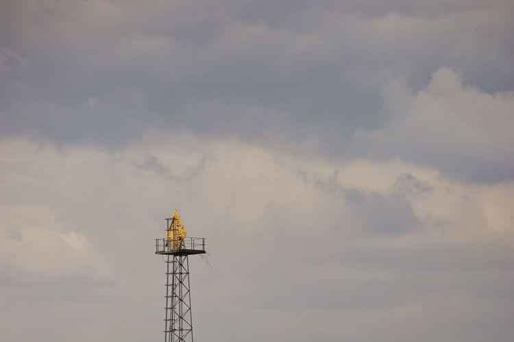 Dramatic Sky Moody Sky Technology Sky Cloud - Sky Tall - High Tower Spire  Atmospheric Mood British Culture