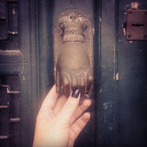 Knock knock✊?✊Door Nauplio Vintage Picturesque