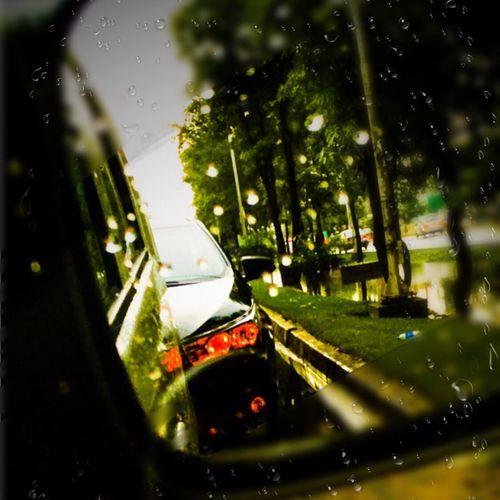 Rain Enroute To GYM