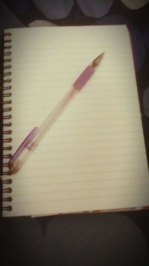 What should i write Pen On A Book Not Sure?