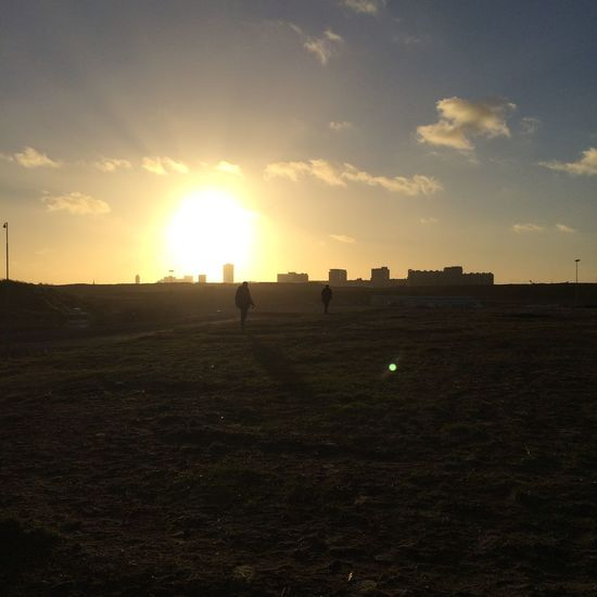 Yesterday Zandvoort Holland Netherlands Traveling Travel Nofilter Silhouette Sun Sunset