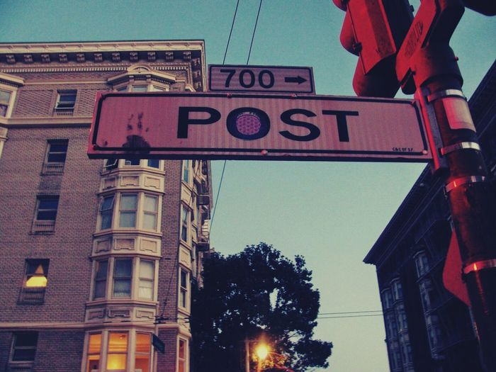 Post Street. 2010. San Francisco