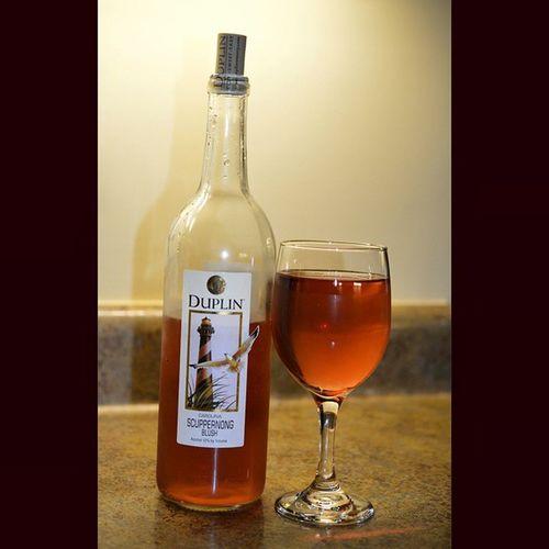 Scuppernong blush Wine Wineporn Winetasting Drinkresponsibly redwine duplin hatterasred winepleasure duplinwinery carolinapride