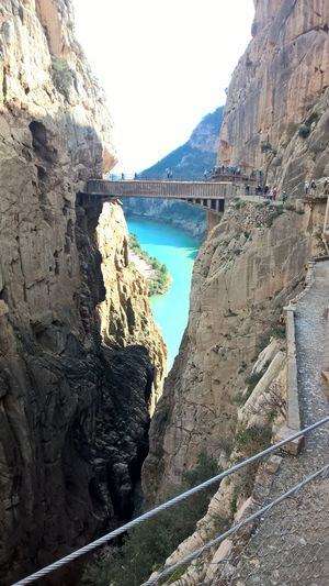 The new and improved..neutered Caminito Del Rey. Still worth the visit though! Caminito Del Rey
