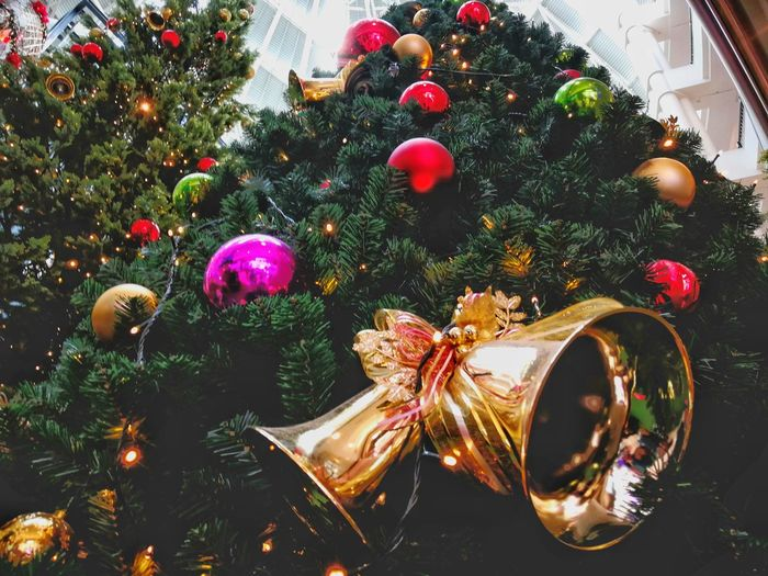 Happiness Christmas Tree Celebration Ornament