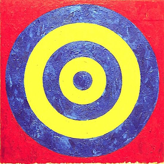 Art Gallery Pop Art Jasper Johns Art Virtual Web Museum Of Contemporary Art ArtWork