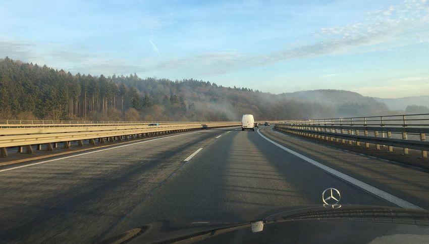 …homebound! AutobahnA45