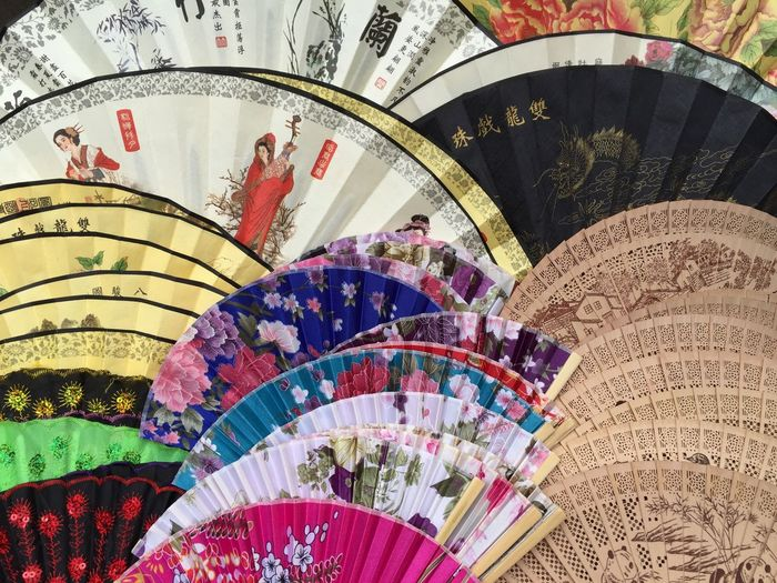 Art Blower Cool Cool Down Design Fan Fresh Wind Little Helper Multi Colored Must Haves Ornate Pattern Summer Must Haves Wind Faecher Made In China Fine Art Photography Colour Of Life Colors and patterns Beautifully Organized