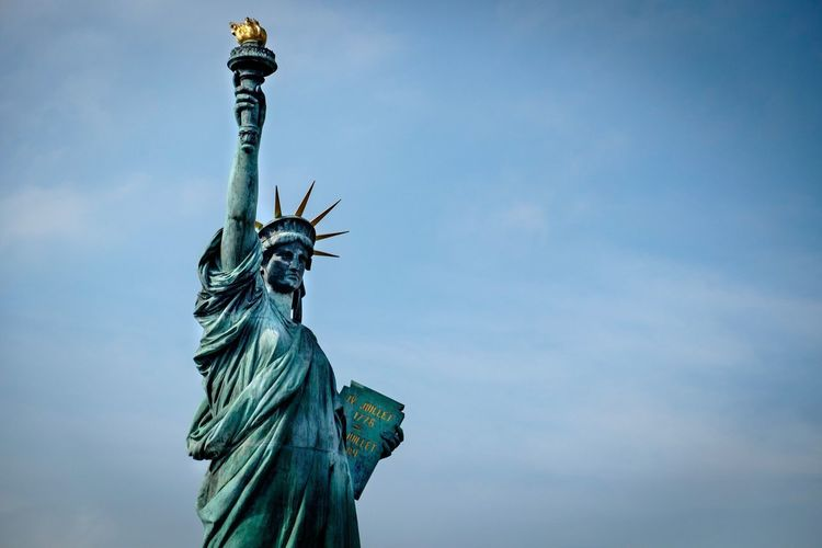 Japanese  Style Statue Of Liberty Statue Sculpture Replica  Tokyo Travel Traveling Travel Photography
