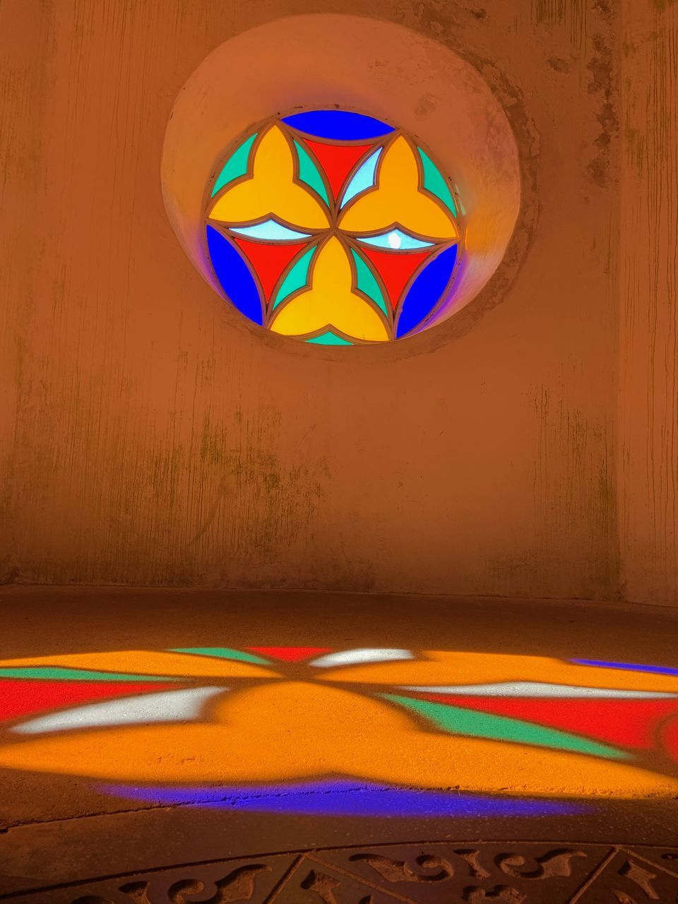 multi colored, no people, pattern, creativity, art and craft, indoors, wall - building feature, design, rainbow, built structure, day, variation, circle, wood - material, shape, flooring, geometric shape, close-up, decoration, flag