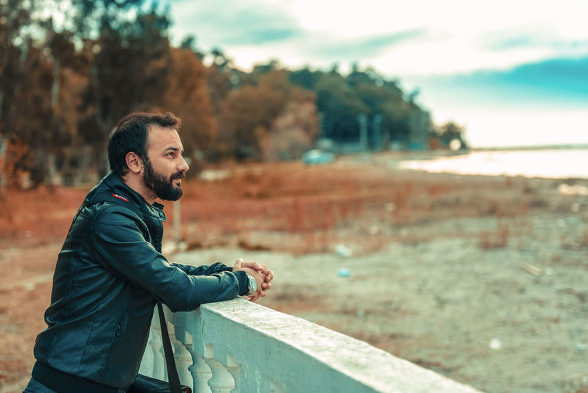 Adult Adults Only Beard Beautiful People Beauty Casual Clothing Day Hipster - Person Lifestyles Males  Men Nature One Man Only One Person One Young Man Only Only Men Outdoors People Portrait Young Adult