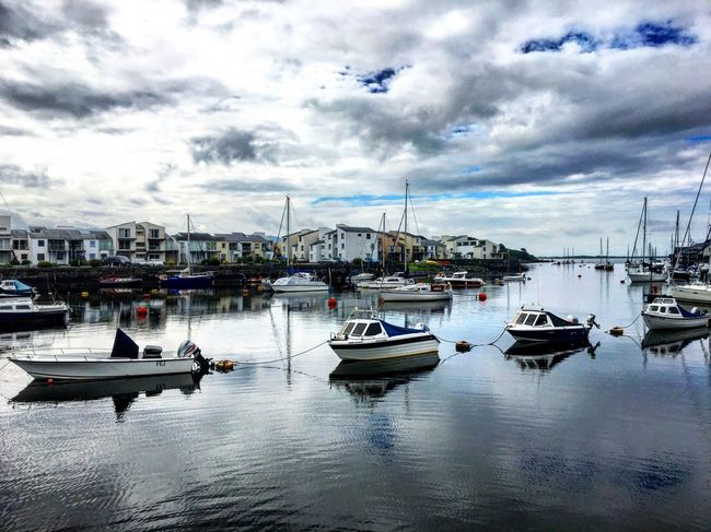 Porthmadog Harbour • North Wales (April, 2016) | Porthmadog Harbour Northwales Boats Nautical Vessel Transportation Reflection Water Sky Cloud - Sky Harbor No People Day Yacht Outdoors Welsh Calm Peaceful Seagull