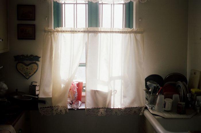 35mm Film Portra 400 Kodak Window Curtain Day Still Life Photography