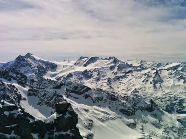 Beautiful Swiss Alps 10000ft up. Mount Titlis Engelberg Switzerland Swiss Alps