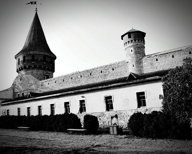 Building Exterior Architecture History Façade Tourism Travel Kamenets-Podolsky Fortress