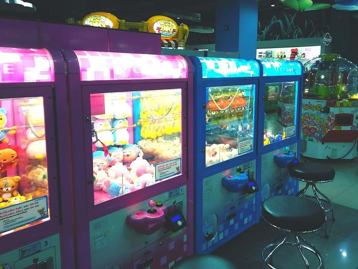 Indoors  Business Finance And Industry Multi Colored Gamezone