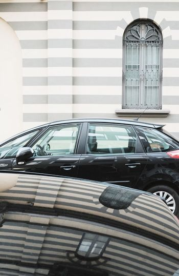 Cars in car